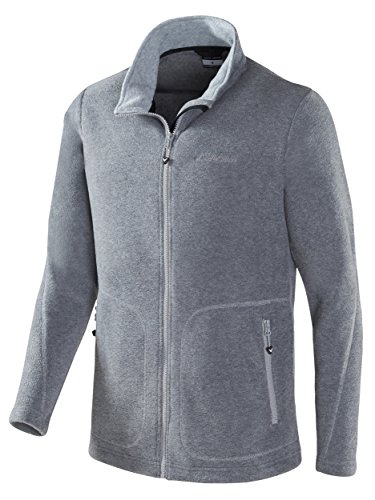 Black Crevice Herren Fleecejacke, Grau, M/50