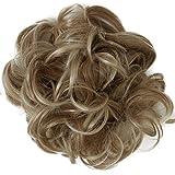 PRETTYSHOP XXL Hairpiece coleta Scrunchy updos engrosamiento del pelo banda para el cabello HW18