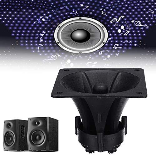 WZRY Domicile 85mm x 85mm x 70mm sonore Audio Noir piézo Cornet Tweeter
