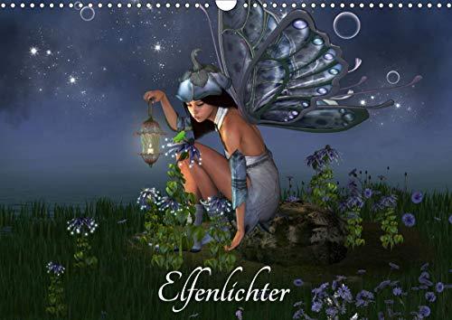 Elfenlichter (Wandkalender 2021 DIN A3 quer)