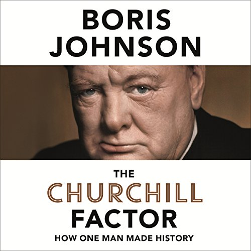 The Churchill Factor audiobook cover art