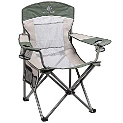 Heavy Duty 350 Lb Capacity Camping Chair