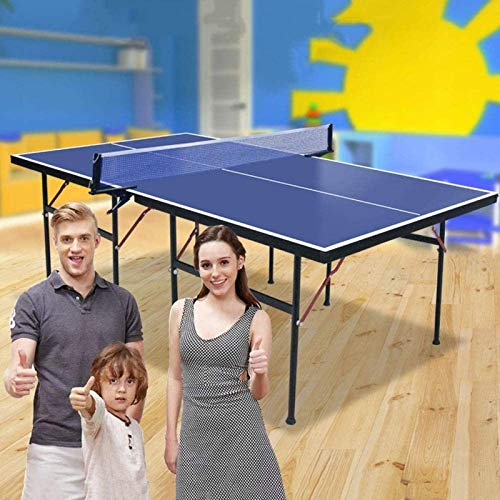 Daily Equipment 2020 Indoor Sports Table Tennis Table Quick Clamp Ping Pong Net Set Table Tennis Racket and Balls Mini Tennis Table for Kids