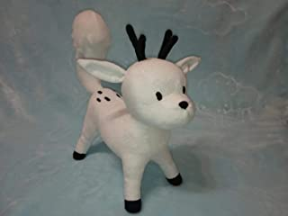 Custom toy inspired by Twig plush Hilda toy, Twig Doll, Hilda and Twig, Twig white fox, Twig the deerfox made to order 30 cm minky