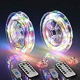 Best Xmas Light Timer - HXWEIYE Fairy Lights Plug in-2 Pack, 33FT 100LED Review