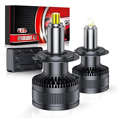 H7 LED Lampade 36SMD 360° Chips Lampadine a Fari LED H7 Kit 10000LM 12V 6000K Sostituzione per Luci Alogene e Xenon Lampada Bianco