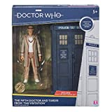 """Doctor Who 5th Dr and Tardis Set - Classic Dr Who Action Figure and Tardis Set - Doctor Who Merchandise - Character Options - 5.5"""""""