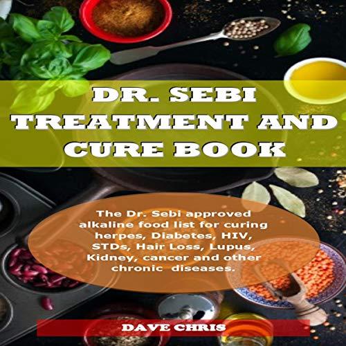 Dr. Sebi Treatment and Cure Book Titelbild