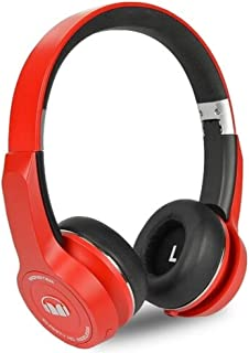 Monster ClarityHD Bluetooth Wireless Foldable On-Ear Headphones (Red)