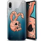 Case for 6.09 Inch Wiko View 3 Lite, Rabbit Skull Design
