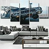 WKXZZS Tabla decoración Chevrole Lowrider Hop Car - 200x100cm...