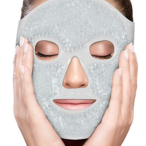 NATURAL TREATMENT: The ultimate pain therapy. Get instant restoration for acute and chronic ailments. Soft touch over the face cover is included - perfect for sleeping. The included reusable gel packs are great for first aid or for home, school, or o...