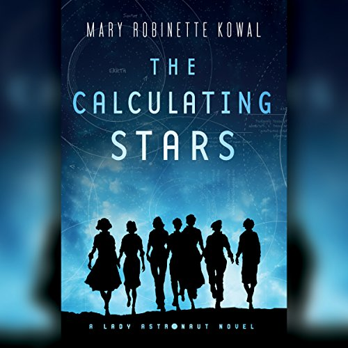 The Calculating Stars audiobook cover art