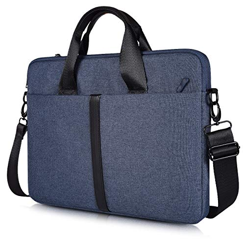 "15.6 Inch Premium Water Resistant Laptop Shoulder Bag Compatible Acer Chromebook 15/Aspire 15/Nitro, Lenovo Yoga 730/720 15.6, Dell Toshiba HP Acer Chromebook 15.6"" Notebook Sleeve Bag"