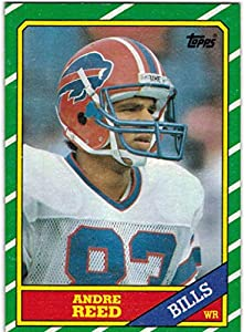 1986 Topps Buffalo Bills Team Set with Andre Reed RC & Bruce Smith RC - 11 NFL Cards