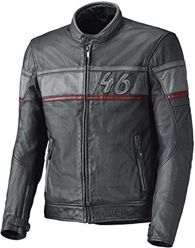 Held Stone Motorrad Lederjacke Anthrazit/Grau 52