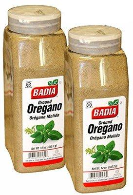 Badia Ground Oregano 12 oz. Large container. Pack of 2