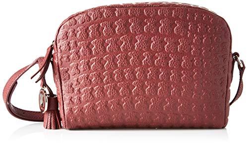 Tous Sherton, Bolso bandolera para Mujer, Rojo (Vino 895900212), 19x14x2 cm (W x H x L)