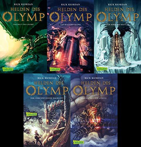 Helden des Olymp Serie von Rick Riordan