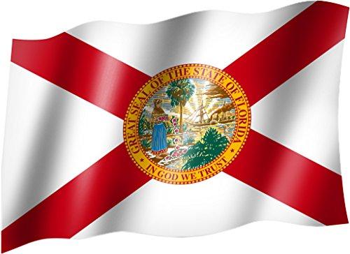 Flagge/Fahne FLORIDA Staatsflagge/Landesflagge/Hissflagge mit Ösen 150x90 cm, sehr gute Qualität