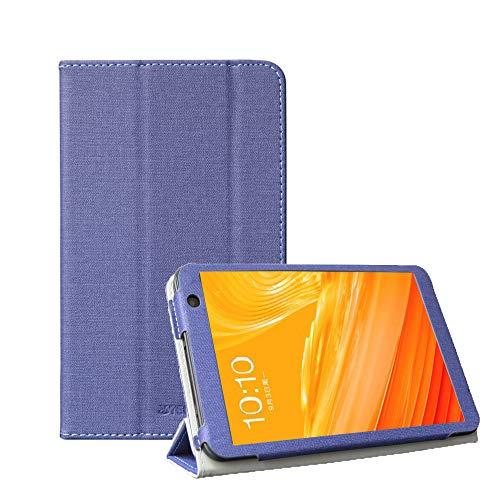 RLTech Funda Carcasa para Teclast P80X, Slim Smart Carcasa Protectora con Soporte Función Cover Case para Teclast P80X 8 Pulgadas, Azul