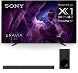 Sony XBR-65A8H Bravia 65' OLED Ultra High Definition Smart HDR 4K TV with a Sony HT-G700 3.1 Channel Bluetooth Soundbar and Wireless Subwoofer (2020)