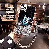 lingtai custodia morbida farfalle glitterate per iphone x xr xs 11pro max 6 7 8 più cover posteriore morbida con glitter-per iphone xr_2
