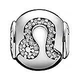 Pandora–Charm da Donna Essence Leone in Argento 925con zirconi Bianchi–796038CZ
