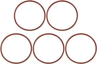 X AUTOHAUX 10pz Bianco Silicone Gomma O-Ring ermetico Guarnizione per Auto 68mm x 3.1mm