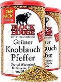 Block House Grüner Knoblauch Pfeffer Gewürzmischung 2er Set 2x 200g