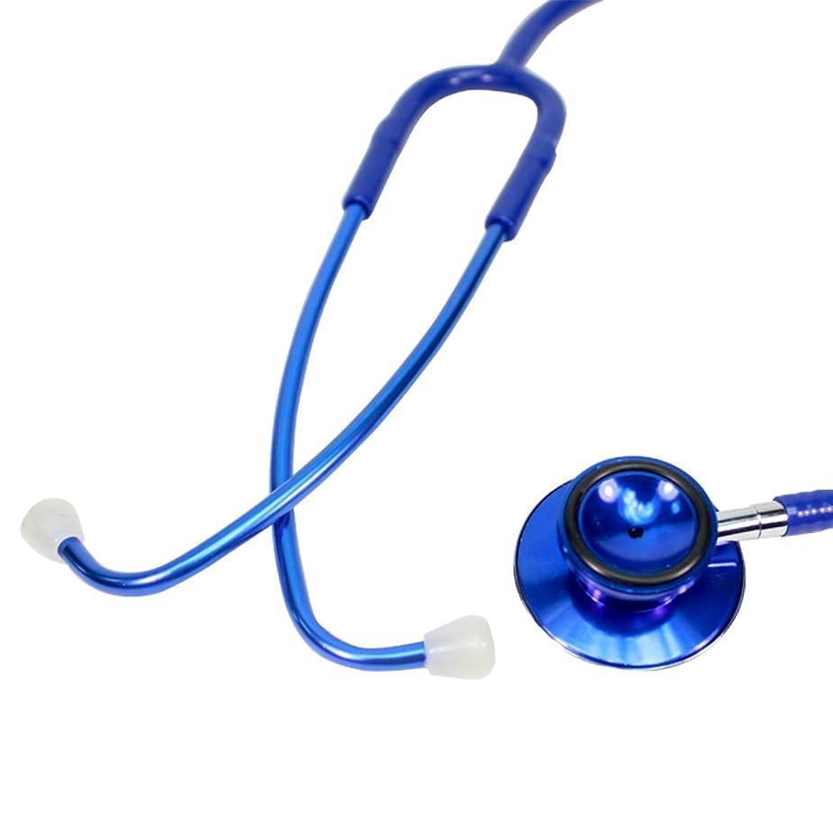 対処歩くキャンドル内バネ ダブル聴診器 ブルー [サッと装着してサッと使えるダブル聴診器]