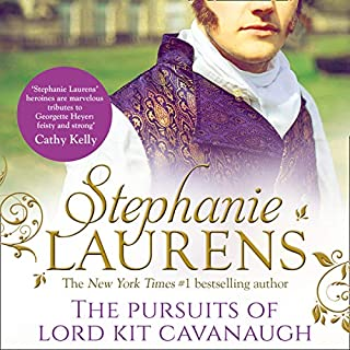 The Pursuits of Lord Kit Cavanaugh                   By:                                                                                                                                 Stephanie Laurens                               Narrated by:                                                                                                                                 Justin Hill                      Length: 11 hrs and 28 mins     Not rated yet     Overall 0.0