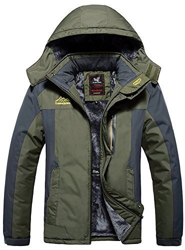 Mochoose Homme Outdoor Mountain Imperméable Coupe-Vent...