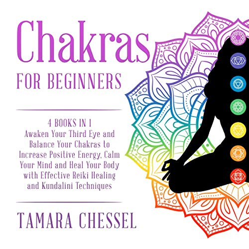 Chakras for Beginners: 4 Books in 1 Audiobook By Tamara Chessel cover art