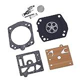 Baoblaze Carburetor Carb Rebuild Kit for Husqvarna Chainsaw: 362 365 371 371XP 372