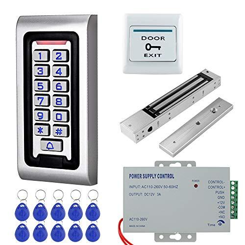 NN99 IP68 Impermeable RFID Teclado de Control de Acceso Exterior + 280KG...