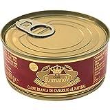 Romanov - Cangrejo - Carne Blanca de Cangrejo al Natural - Ideal para Una Deliciosa Comida- 90 Gramos