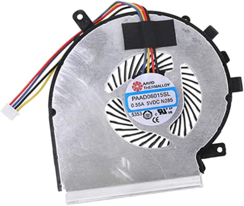 Gazechimp Replacement 5 popular New unisex Laptop CPU Cooling Fan GE62 M MSI for