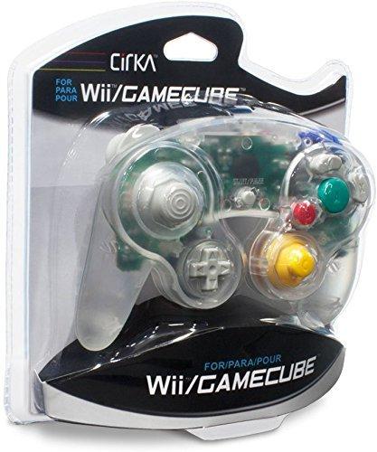 Manette de jeu transparente pour console Nintendo Gamecube et Wii