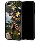 iPhone 8 Plus Case,Anime Pattern Movies Luxury Design,9H Tempered Glass iPhone 7 Plus Cases for Men Women Anti-Scratch Cover Case for iPhone 7/8 Plus pic 617