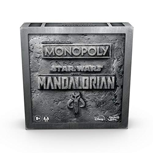 Monopoly: Star Wars The Mandalorian Edition Board Game Protect The Child Baby Yoda from Imperial Enemies