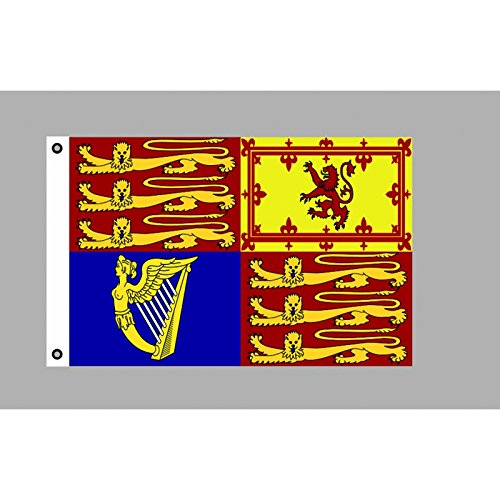 Everflag Flagge 90 x 150 : British Royal Standard/Flagge der Königin (GB)