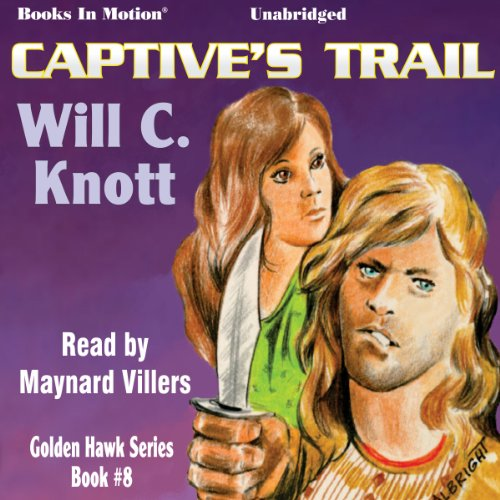 Captive's Trail audiobook cover art