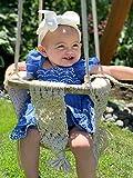 New 2021!! Macrame Swing Chairs-Handmade Swing-Baby Swing Chair-Toddler Swing-Indoor Swing-Hammock Chair-Baby Hammock-Outdoor Swings