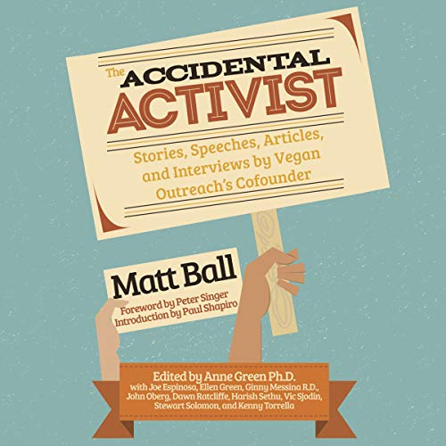 The Accidental Activist audiobook cover art