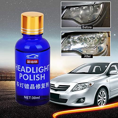 Koplampen polijsten 30 ml anti-kras auto paratuur oxidatie achteraanzicht coating vloeibare coating-oplossing reparatieset