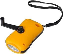 XIAONINGMENG-A Hand-cranked Generator Flashlight LED Light Outdoor Emergency Flashlight Portable Equipment Lanterns (Color...
