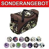 Bambiniwelt - Bolso cambiador para cochecito, bolso para cochecito y cambiador, diseño de búho 14 búhos.