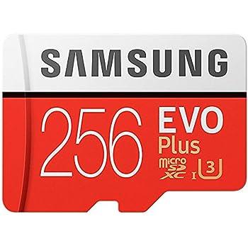 Samsung Tarjeta de Memoria microSDHC UHS-1, Clase de Velocidad 1, Clase 10 para Smartphone y Tablet con Adaptador SD, (Modelo de 2017) [Paquete abrefácil de Amazon] Transparente Claro 256 GB: Amazon.es: Informática