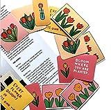SSQ Ins Wind Tulip Mano Cuenta Dibujos Animados Impermeable Coche Pegatina decoración Coche eléctrico Ordenador Equipaje película tonta DIY Pegatina 16 Uds